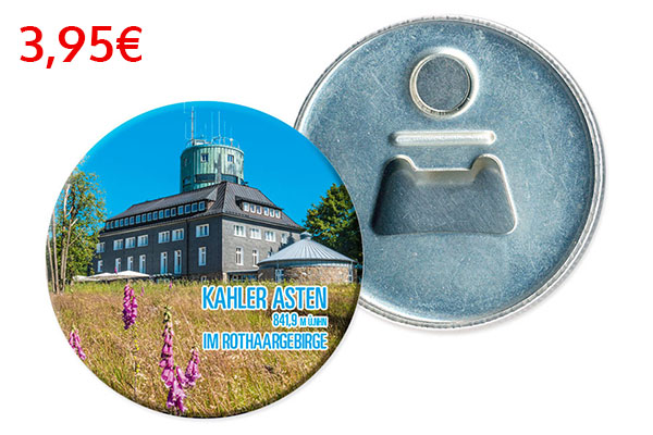 Magnet Flaschenöffner Ortsschild Design Maximilian